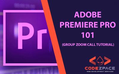 Adobe Premiere Pro 101